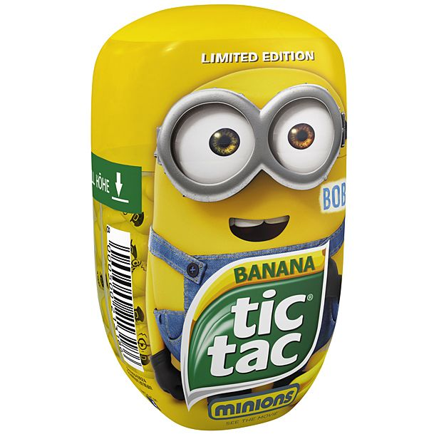 tic tac minions banana - Google Search