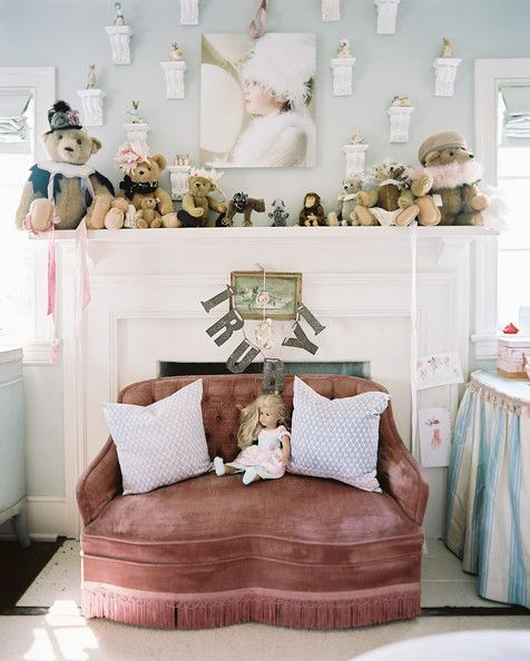 78 images about french style nursery on pinterest baby - Salones estilo shabby chic ...