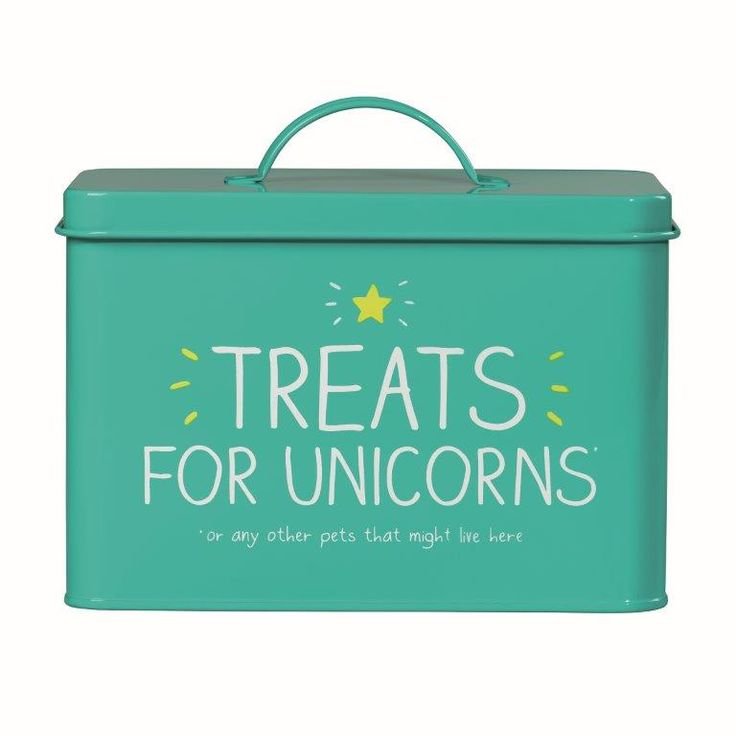 Happy Jackson Green Unicorn Pet Tin