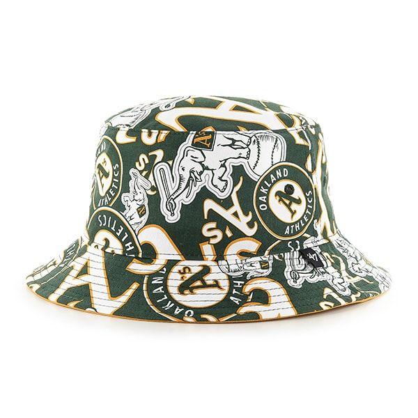 c64705234 Oakland Athletics 47 Brand Bravado Bucket Hat in 2019 | Oakland A's ...