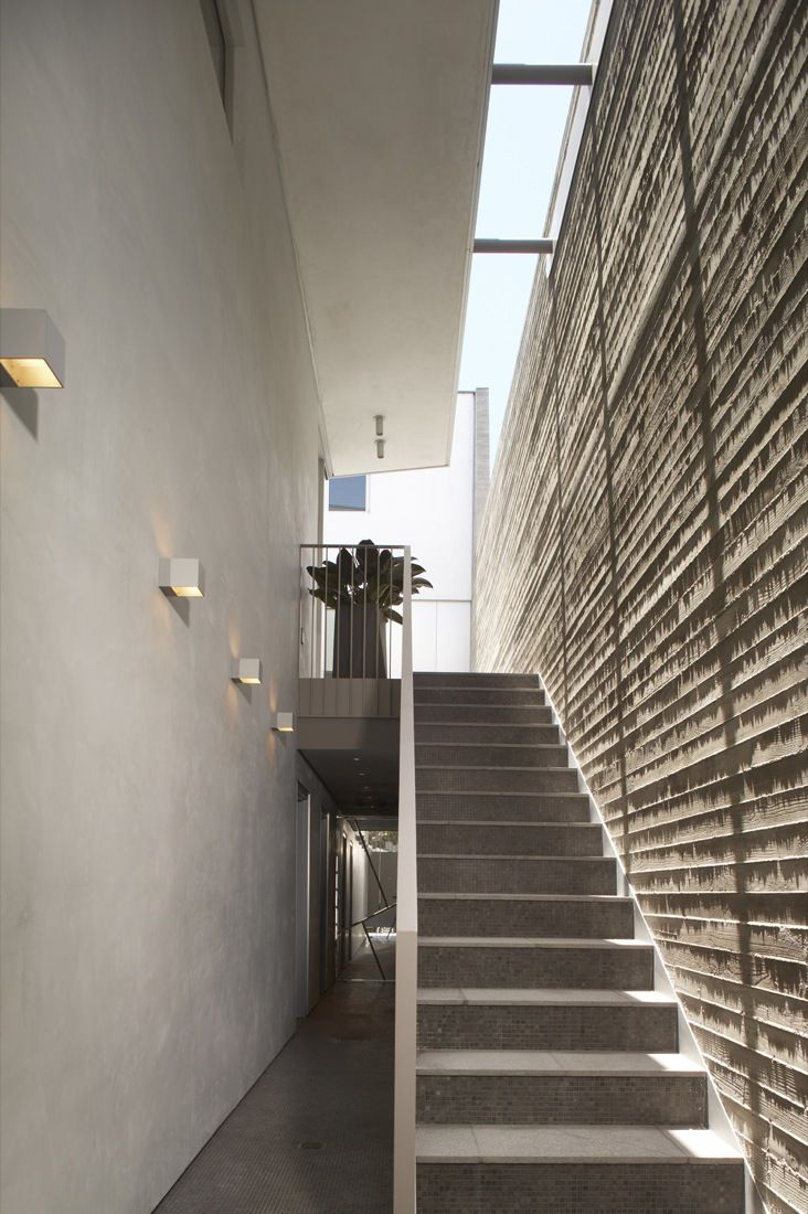 The Mixed Use Townhouse Staircase Architecture Design
