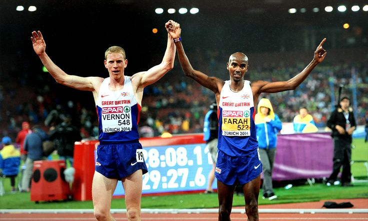 Andy Vernon and Mo Farah offer feud for thought... Twitter spat between British distance runners brings back memories of Coe v Christie and raises the question of whether Farah's domestic races are too soft.