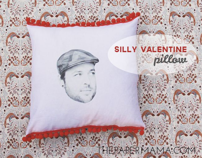 Silly Valentine Pillow, Just Funny And Silly Gift Ideas For Valentines Day  2014 On Http