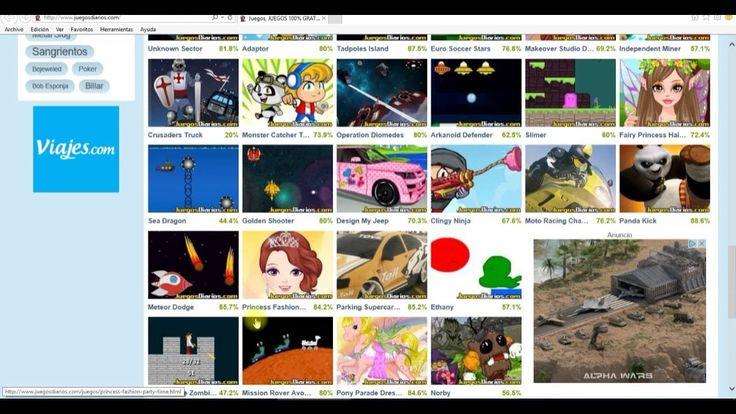 Juegos gratis uno de los mejores sitios de la red donde divertirse es facil accediendo online a todo tipo de juegos para jugar gratis a juegos de Coches o carros, juegos de Cocina juegos de princesas juegos de Futbol, todo de la mano de la superconocida web JuegosDiarios