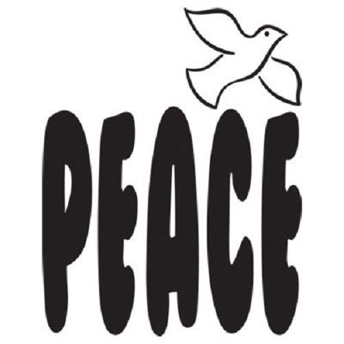 TSHIRT  Peace & Dove Symbol  T  Shirt  Item by AlwaysInStitchesCo, $13.00