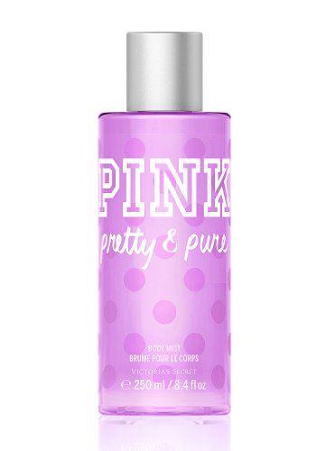Victoria's Secret Pink Pink with a Splash All-over Body Mist in Pretty  Pure Victoria's Secret http://www.amazon.com/dp/B00442VQSK/ref=cm_sw_r_pi_dp_2.2Rtb079VHQDRTA