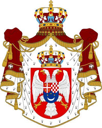 Wappen des Königreichs Jugoslawien