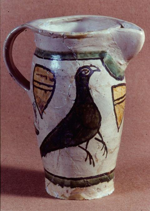 Pichet à vin, saintonge, XIVe siècle. France / Wine / 14th century / pitcher / medieval