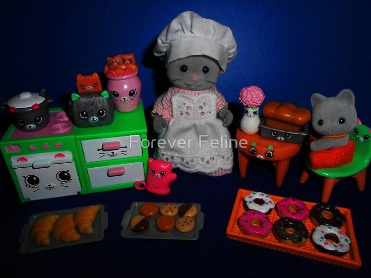 Sylvanian Families ~ Kitty Kitchen