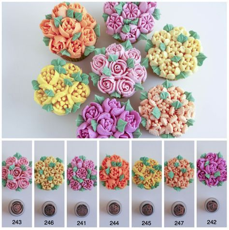Russian Piping Tips Tutorial – How to Use Flower Piping Tips