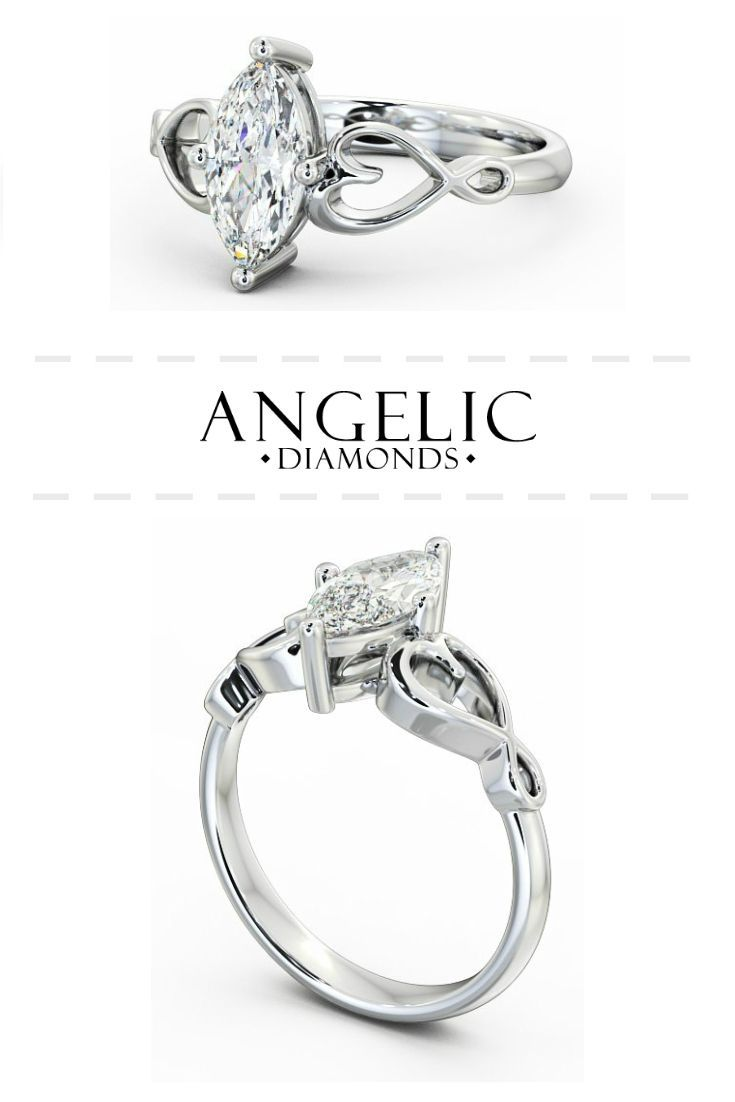 This oval diamond engagement ring is simply stunning! Find your perfect diamond engagement ring from #AngelicDiamonds and customise it to make it truly unique. #Wedding #Engaged #Engagement #Jewellery #Jewelry #WhiteGold #Diamond #Diamonds #EngagementRing #DiamondRing #WhiteGoldRing