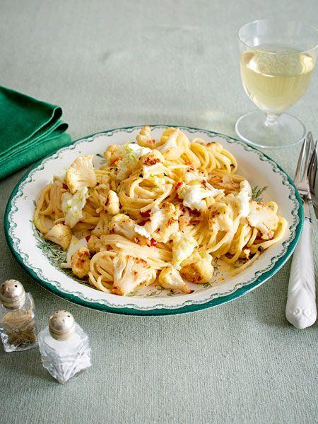 Schnelle Veggie-Pasta für Genießer.