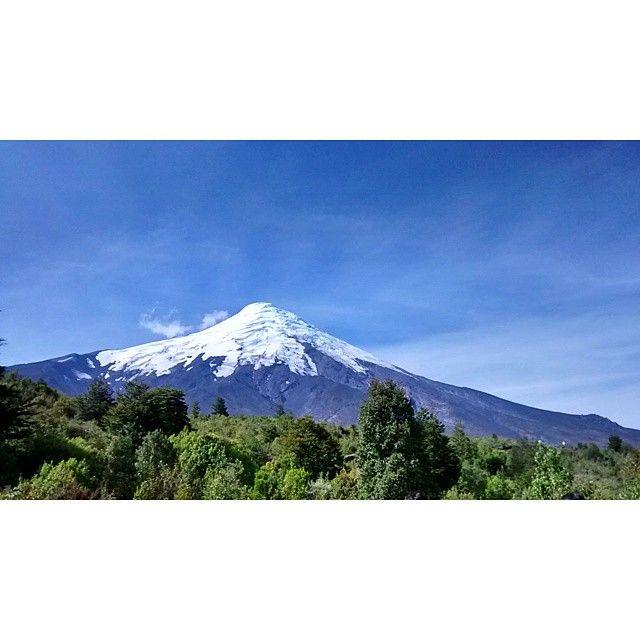 Volcan Osorno. Region de Los Lagos. Chile.  #chile #volcanosorno #osorno #volcan