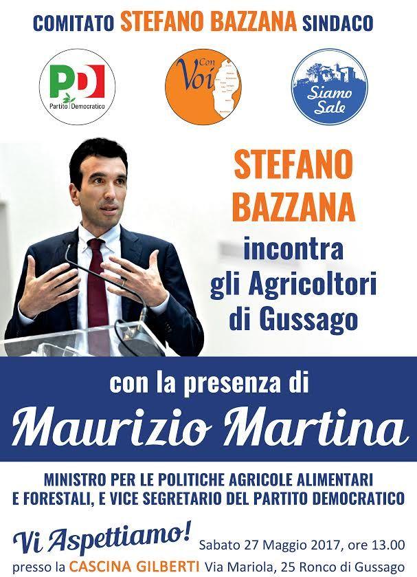 Sabato 27 maggio il ministro Martina all'agricola Gilberti - http://www.gussagonews.it/ministro-martina-agricola-gilberti-maggio-2017/