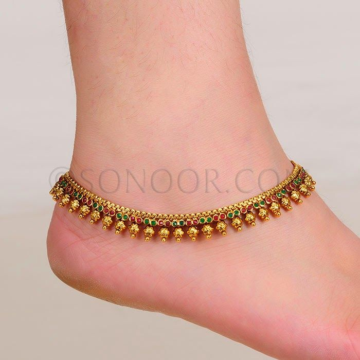 46 best payal images on Pinterest | Tribal jewelry, Silver anklets ...
