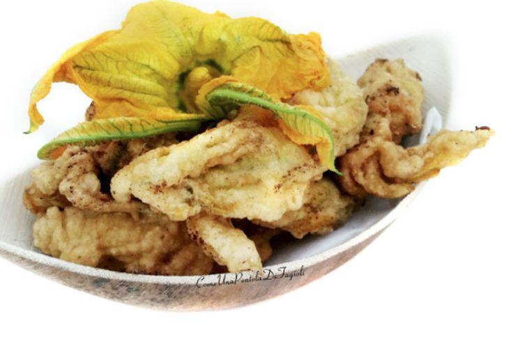 Scoprite la ricetta per favolosi fiori di zucca fritti! http://www.kasanova.it/blog/Fiori_di_zucca/