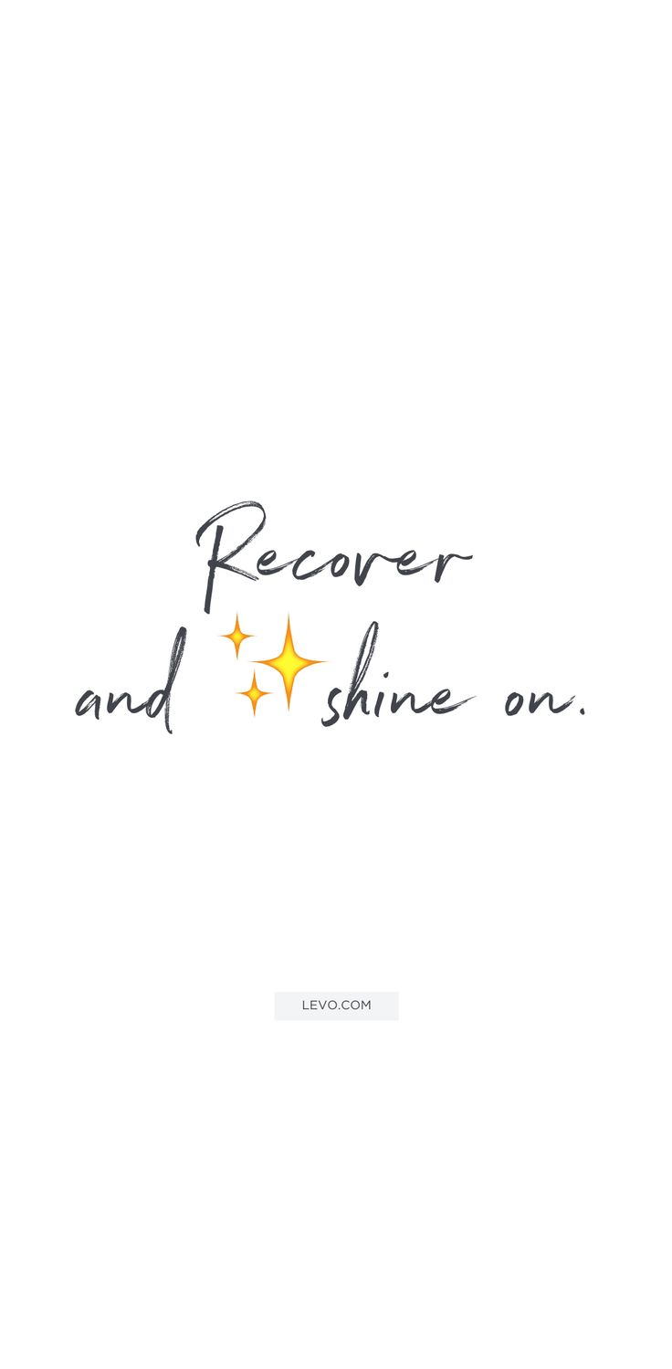 Monday Motivation Quotes: Recover and shine on. quotes from the Levo League community #levoinspired