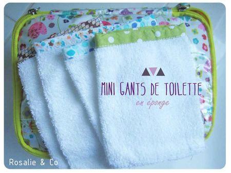 DES CHUTES DE TISSUS ? mini gants de toilette