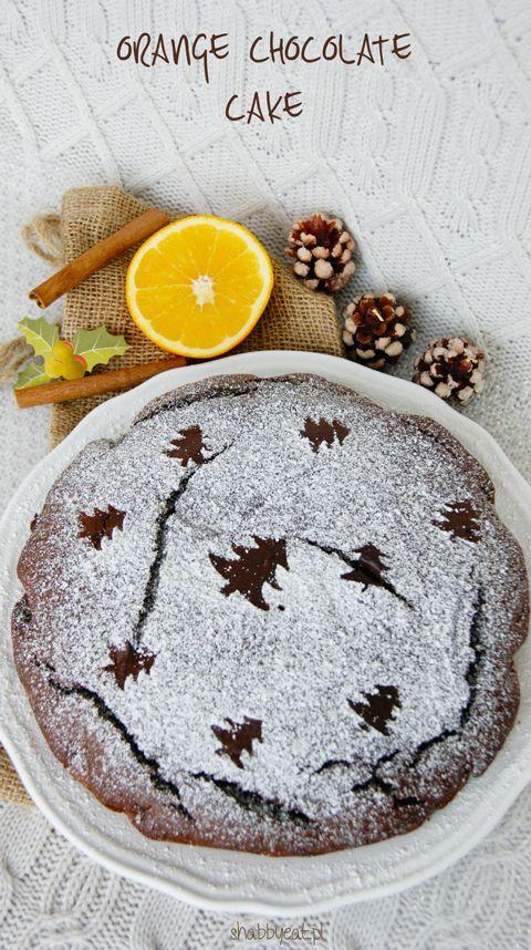 ciasto czekoladowo-pomarańczowe / christmas orange chocolate cake recipe