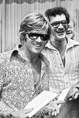 1972 - Actor Robert Redford and film director Sydney Pollack