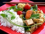 Thai Tofu Coconut Curry (Vegan/Gluten-free)