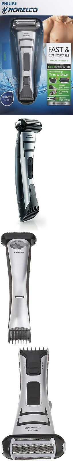 Mens Shavers: Philips Norelco Bodygroom Series 7100, Bg2040 (Washable Electric Shaver Trimmer) -> BUY IT NOW ONLY: $51.95 on eBay!