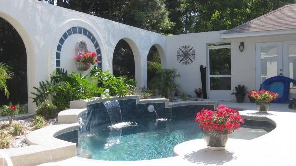 Courtyard Pool and Backyard Oasis | Swimming Pool/Spa