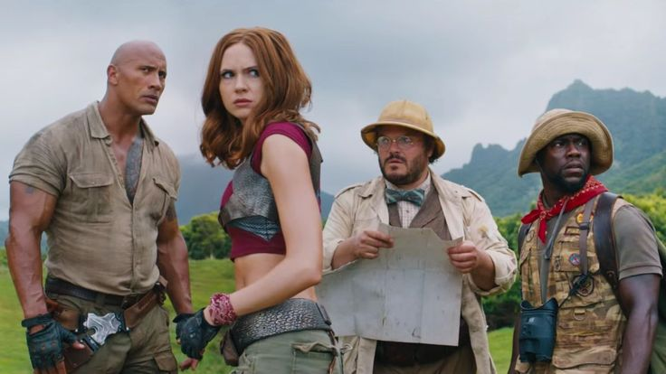 The Rock Is Trying Really Hard Not To Cry In First Jumanji Trailer http://www.mtv.com/news/3023539/jumanji-welcome-to-the-jungle-trailer/