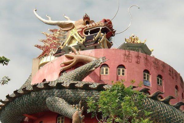 Wat Samphran Temple – Khlong Mai, Thailand  - Atlas Obscura