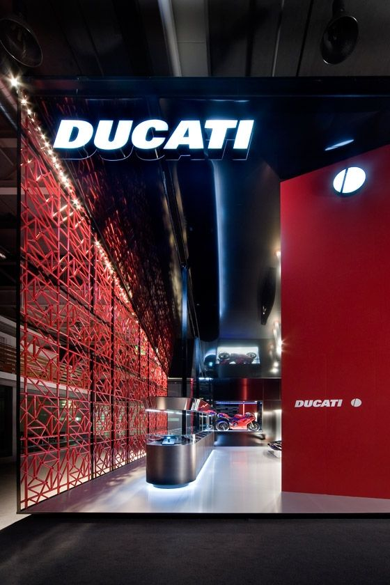 Small Exhibition Stand Lighting : Ducati baselworld exhibitions