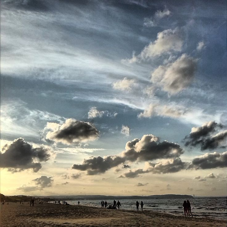 #Gdansk #Beach #Cloudporn