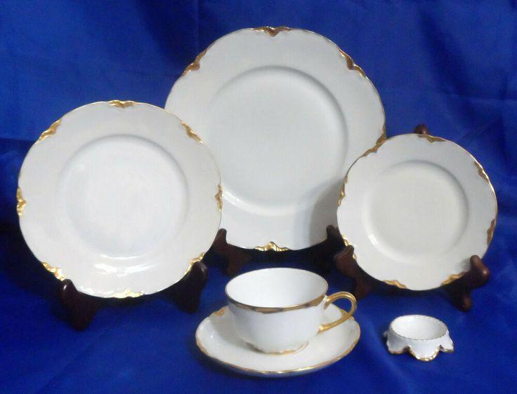 Vintage Hutschenreuther The Blenheim 6 Piece Dinnerware Place Setting Hutschenreuther Dinnerware Decorative Plates Tableware
