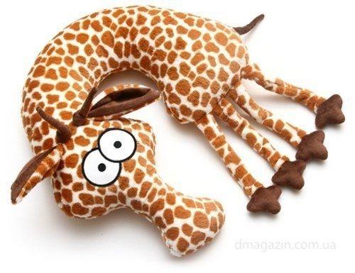 Подушка-игрушка под шею +выкройка
