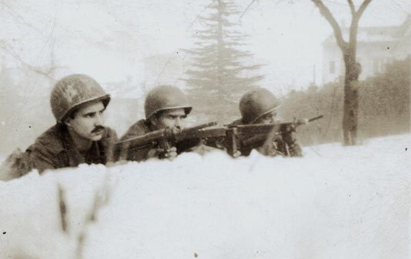WW2 ITALY Apennine mountains in the winter of 1944, temperatures up to 20 degrees forgotten heroes: Sg Nile de Morais Pinheiro-11 RI BRAZILIAN EXPEDITIONARY force-FEB