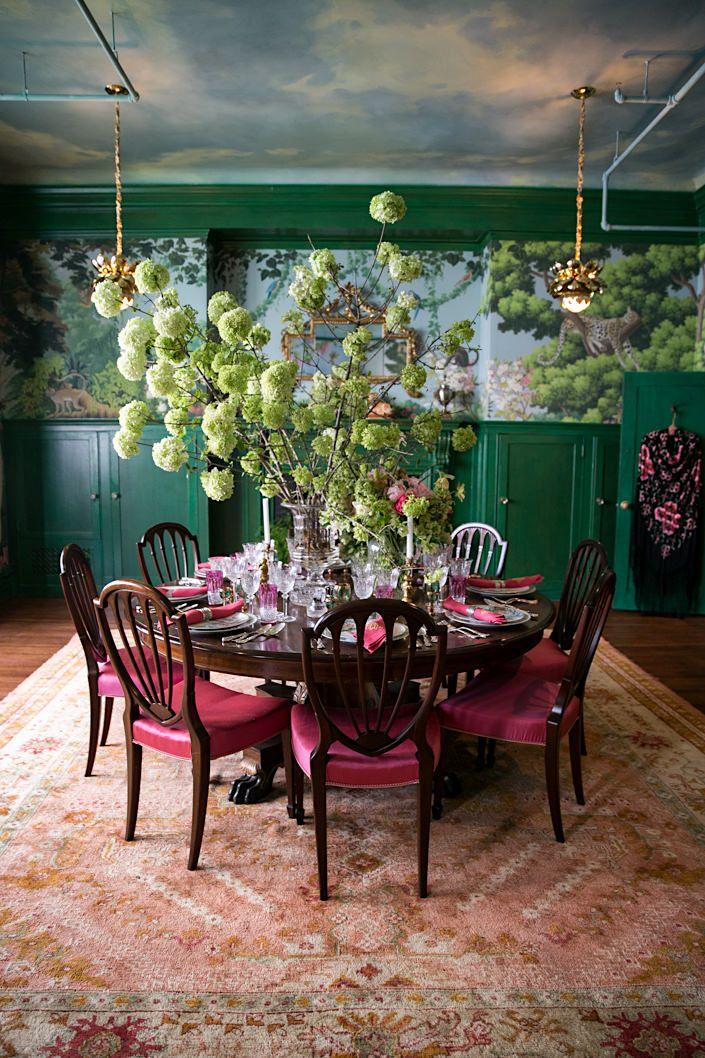 Best 25 Green Dining Room Ideas On Pinterest Green