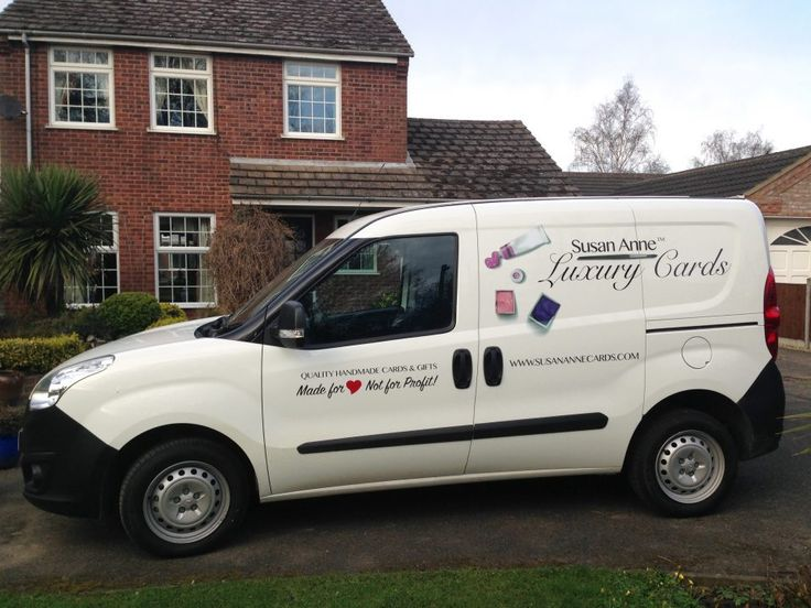You may see me running around the Lincolnshire (& further afield!) area in my shiny van! I hope you'll all agree that it looks just the ticket! The lovely graphics that adorn the side and rear are in-keeping with the website's general aesthetic so I hope you find that we are presenting a unified brand! …