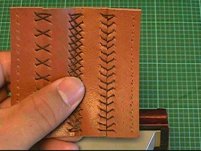 【レザークラフト初心者】も動画を見ながら、『革の縫い方』・『革の編み方』・『革の洗い方』・『革包丁の研ぎ方』などの主要なレザークラフト・テクニックを学んでいきましょう♪⑦