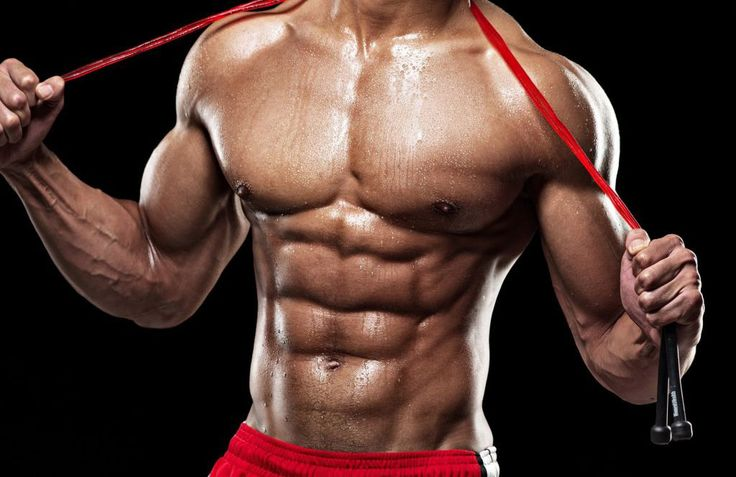 Sixpack-Bauchmuskel-Training