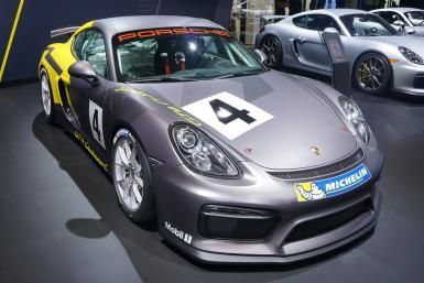Los Angeles Auto Show: When to go how to get there what to see: Porsche Cayman
