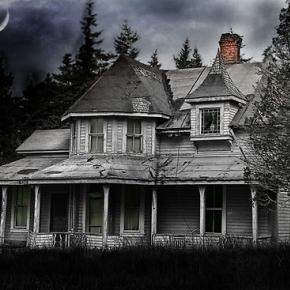 Abandoned House: I've always loved these type of old houses that need fixing up. They have a ton of character.