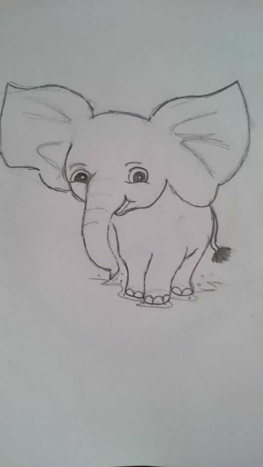 Just a Drawing of an.elephant cause i was bored :)