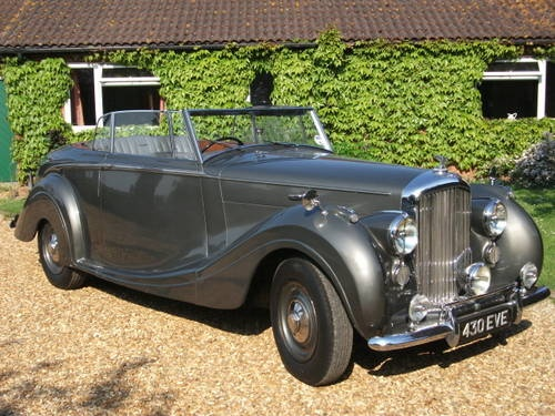 Drophead Bentley by Mulliner For Sale (1949) on Car And Classic UK [C312489]