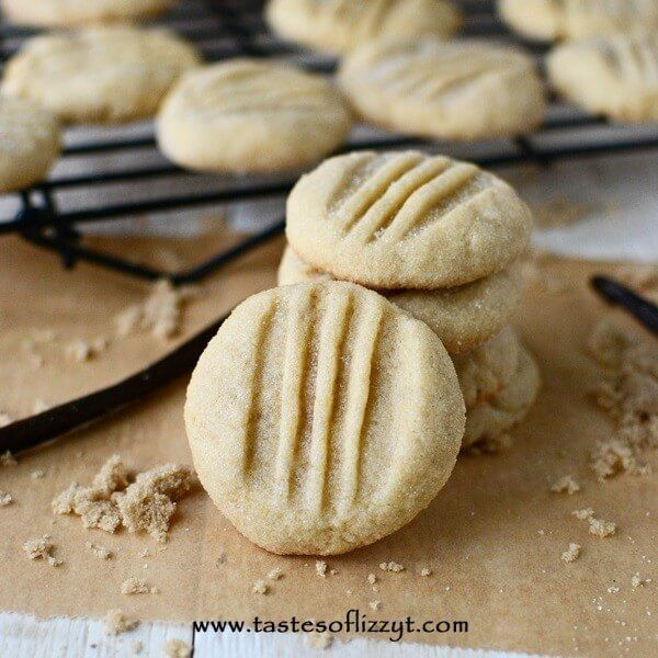 Buttery cookies made with brown sugar. These tender Brown Sugar Butter Cookies are so easy to make!