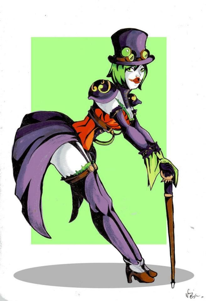 Sketch Paddys: Duela Dent