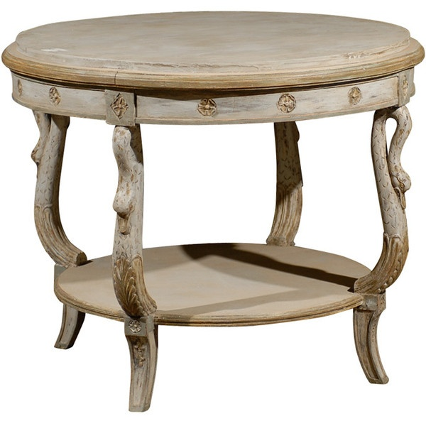 A Tyner Antiques - Swedish Table - 1stdibs found on PolyvoreTyner Antiques, French Antiques, Antiques Mixed