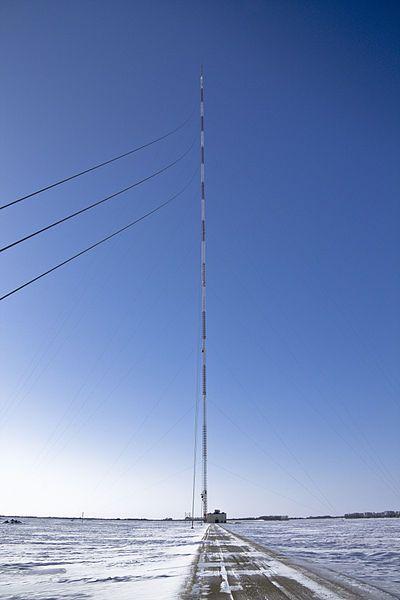 KVLY-TV Mast Tower en Dakota del Norte, Estados Unidos 628.8 metros: