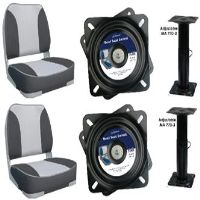 Deluxe Boat Seat, Adjustable Pedestal & Swivel x2 - Only $344.00 + get shipping free #BoatSeatNz http://www.theboatcentre.co.nz/Shop/Product/723/Deluxe-Boat-Seat%2c-Adjustable-Pedestal-and-Swivel-x2