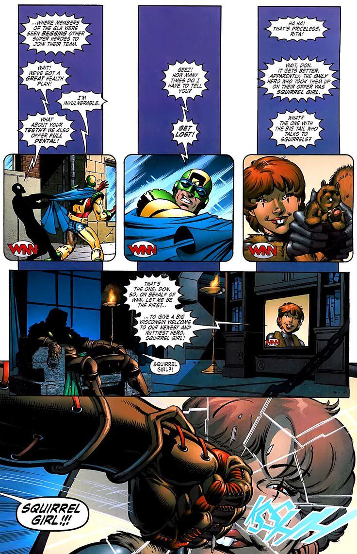 Dr Doom Has A Vendetta Against Squirrel Girl!