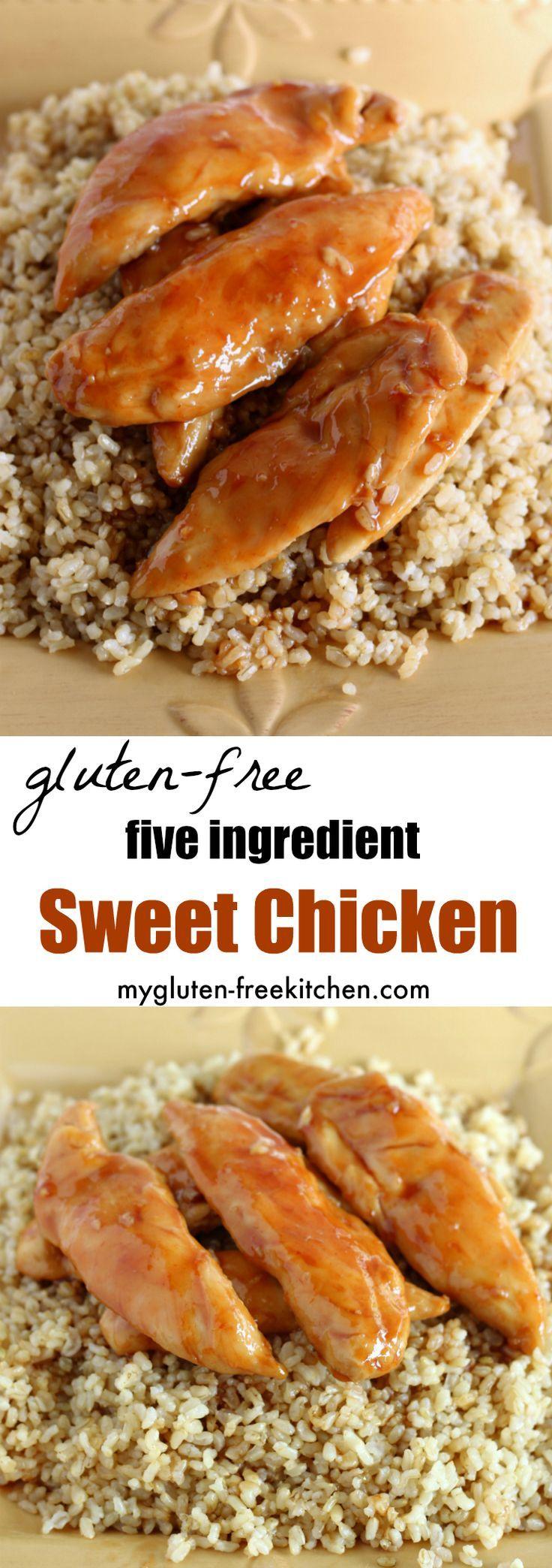 Gluten-free Sweet Chicken – #Chicken #glutenfree #Sweet
