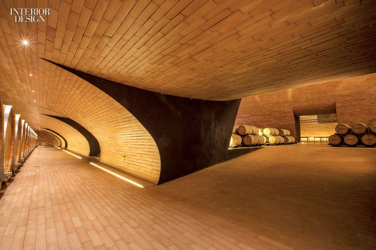 When the 625-year-old Italian vintner Marchesi Antinori retained Archea Associati to build the Chianti Classico Cellar outside Florence, eco-consciousness was elemental. Most of the winery is underground, where tile in the small-barrel cellar is terra-cotta. Photography by Mauro Puccini.